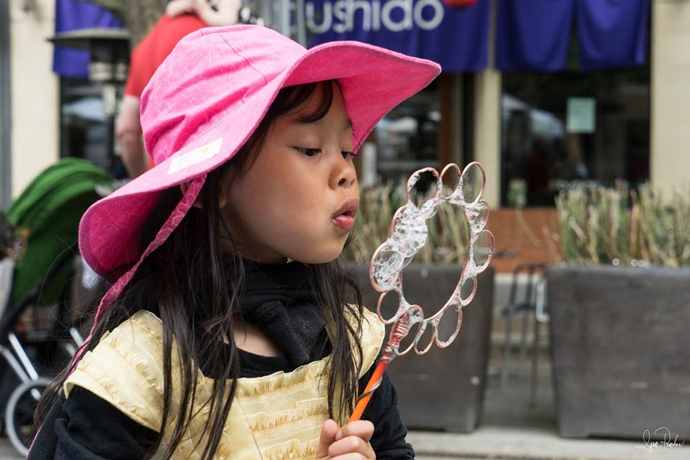 fun for all ages at A la Carte & Art street festival in downtown Mountain View