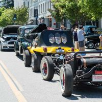 A La Car & Art classic car show