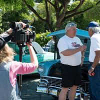 Mike Hennessy of Car Guy Channel interviews classic car owner