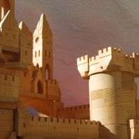 Peter Dziulak castle building blocks
